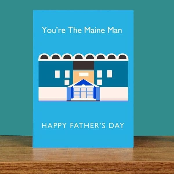 Maine Man Father's Day Card