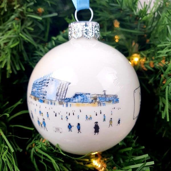 Maine Road Christmas Bauble