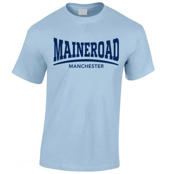 Maine Road Sky Blue T-shirt