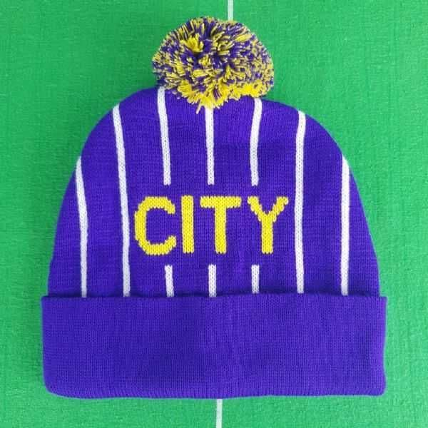 Purple 92 Bobble Hat