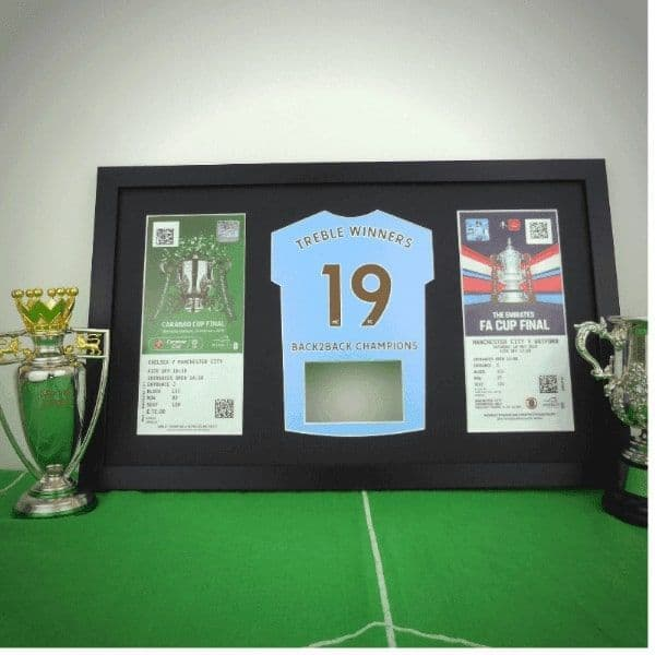 Treble Winners Frame