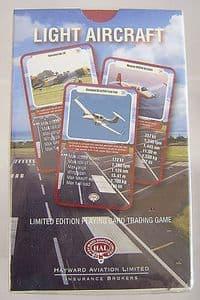 'Top Trumps' Trading Cards - Light Aircraft - Hayward Aviation - Sealed