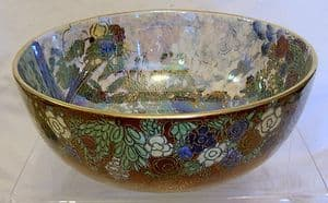 A G Harley Jones Wilton Ware Lustre Fairyland Bowl - sold