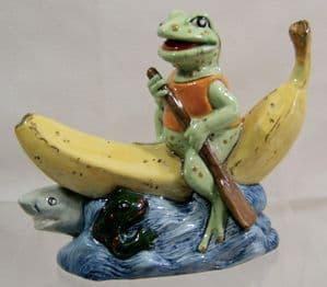Artware Collectables Hi-Viz Reservoir Frog Novelty Teapot - NEW STOCK & NEW LOW PRICE - SOLD