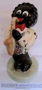 Artware Collectables Large Golly Musician Saxaphone Player - Limited Edition - SOLD