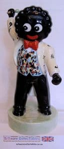 Artware Collectables Large Golly Musician - The Singer - SOLD