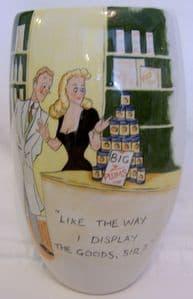 Artware Collectables Tony Cartlidge Tall Vase - Saucy Seaside No. 6 - 1/1 - SOLD