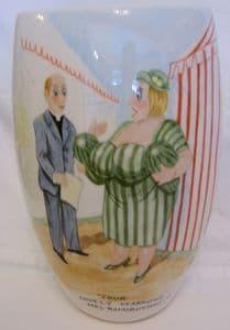 Artware Collectables Tony Cartlidge Tall Vase - Saucy Seaside No.4 - SOLD