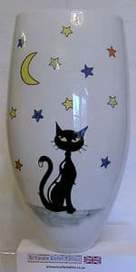 Artware Collectables Tony Cartlidge Tall Vase with Cats - 1/1