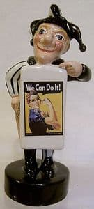 Artware Mr Punch Sandwich Board - Women's Land Army & We Can Do It - SOLD