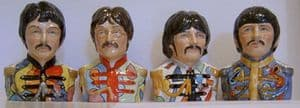 Bairstow Beatles Collection - Sergeant Pepper Jugs x 4 - SOLD