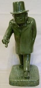 Bairstow Manor Man Of The Century Churchill Figure in Jade - Trial - 1/5 - SOLD