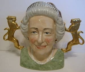 Bairstow Manor - The Queen's Diamond Jubilee Two-Sided Jug - SOLD