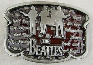 Beatles Belt Buckle - Official Apple Product 1992 - No. 8234 Limited Edition - SOLD