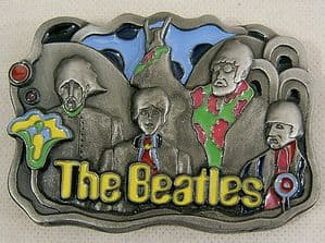 Beatles Belt Buckle - Official Apple Product 1994 - No. 1657 Limited Edition - SOLD