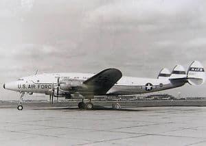 Black & White Photo - Post War Transport - Lockheed VC-121A -80617 USAF MATS