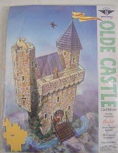 British Airways Skyflyers Official In-Flight Hamleys Olde Castle Card Model
