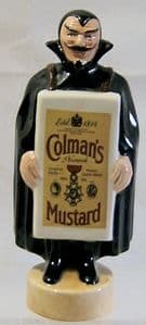 Carlton Ware Black Mephisto - Colman's Mustard - L/E - SOLD