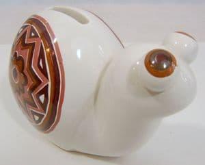 Carlton Ware Bug-Eyed Snail Money Box - 1970s