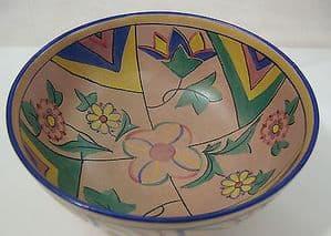 Carlton Ware Handcraft 'Ferrago' Fruit Bowl - 1930s - SOLD