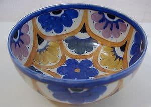Carlton Ware Handcraft 'Floral Scallops' Fruit Bowl - 1930s
