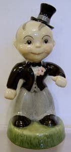 Carlton Ware Kids - Groom Figure 111 - Numbered edition SOLD