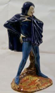 Carlton Ware Large Standing Mephisto - Alternative Dark Blue  Colourway - 356 - SOLD