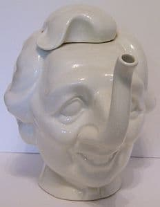 Carlton Ware Luck & Flaw Spitting Image Maggie Thatcher Teapot - NEW LOW PRICE - SOLD