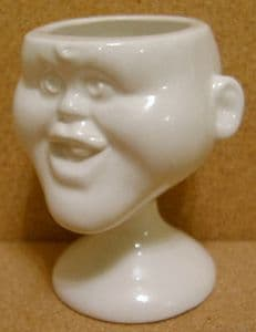 Carlton Ware Luck & Flaw Spitting Image Princess Eugenie Eggcup -SOLD