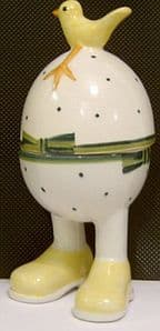 Carlton Ware Lustre Pottery Easter Eggcup with Cover - SOLD