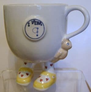 Carlton Ware Lustre Pottery 'I Am 9' Birthday Cup - SOLD