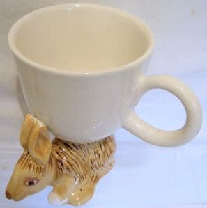 Carlton Ware Lustre Pottery Walking Ware 'Hare' Mug/Cup - 1974 - SOLD