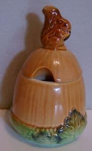 Carlton Ware 'Squirrel & Acorn' Preserve Pot - SOLD