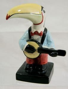 Carlton Ware Toucan Band Banjo Player 2 - Limited Edition - SOLD