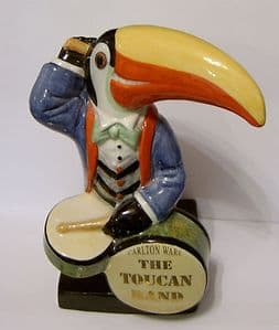 Carlton Ware Toucan Band - The Toucan Drummer 1 - SOLD