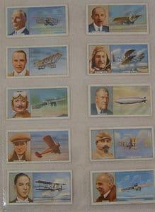 Carreras - Famous Airmen & Airwomen - Set - 50 cards