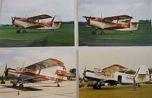 Colour Photos  Antonov AN-2, D-FKMA, DDR-SA, HA-MKF,LY-ASA,HA-ABP -