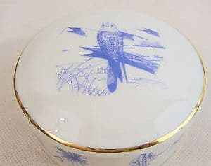 Emirates Official In-Flight Limoges Trinket Box - Nesting Birds of the UAE - No 7 - SOLD