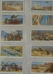 Lambert & Butler - Empire Air Routes - Set - 50 cards