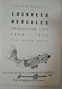 Lockheed Hercules Production List 1954-1979 - Lars Olausson - Feb 1979