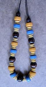 Majique Coloured Beaded Long Necklace - Brand New