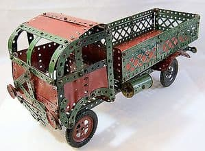 Meccano 1950s Constructed Set - Large Size Open Carrier - mainly assembled.
