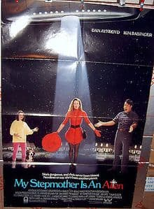 My Stepmother's An Alien - Film Poster - 1988