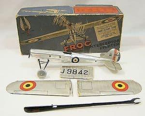 Original FROG Flying Model - Interceptor Fighter - Boxed, Almost Complete