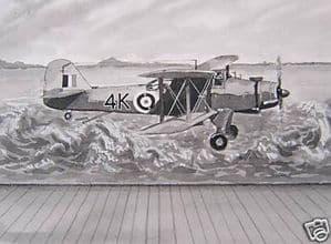 Original Painting - Fairey Albacore - Formaplane Box Art