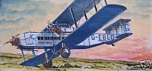 Original Watercolour - Armstrong Whitworth Argosy - SOLD