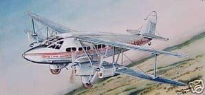 Original Watercolour - De Havilland DH-86 Express - SOLD