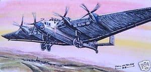 Original Watercolour - Junkers G.38 - SOLD