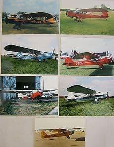 Photos Selected Light Aircraft - Auster/Beagle/Taylorcraft x 19 photos