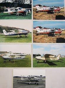 Photos Selected Light Aircraft - Bolkow 208C Junior x 12 photos